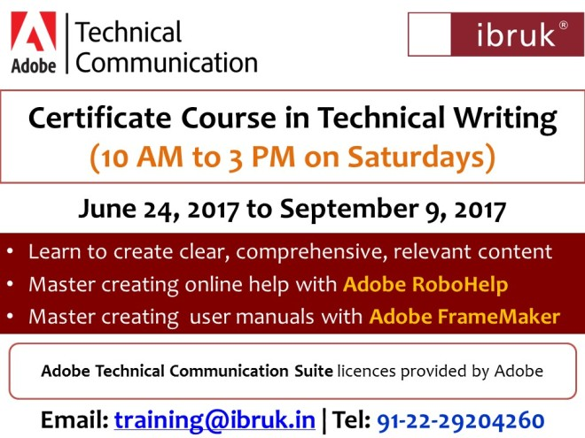 Technical writing certification online course